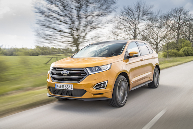 essai ford edge suv sport route