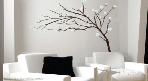 idee cadeau fete des meres sticker mural cerisier
