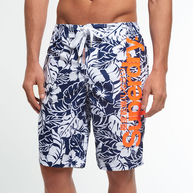 Boardshort superdry homme