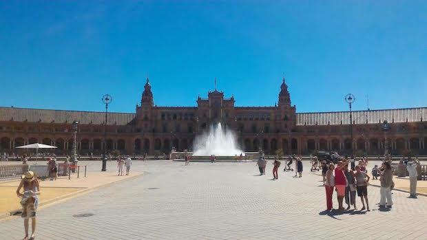 La Plaza de Espana, majestueuse