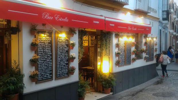 La pépite gastronomique de Séville- le Bar Estrella