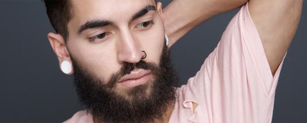 Boucles d'oreilles les femmes a barbes