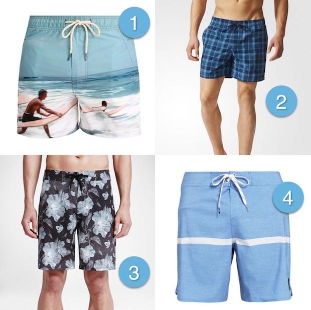 indispensable pour la plage homme maillot de bain
