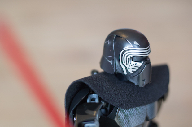 lego kylo ren star wars detail