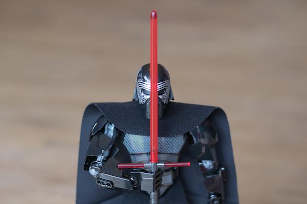lego kylo ren star wars sabre laser