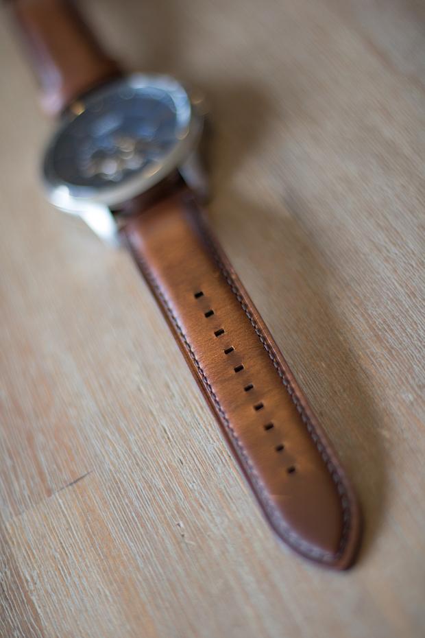 montre townsman automatique fossil avis cuir