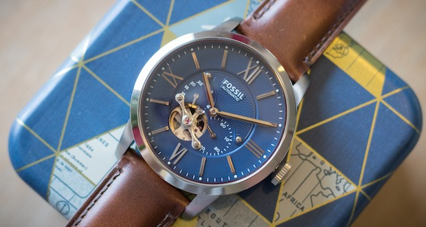 montre townsman automatique fossil test