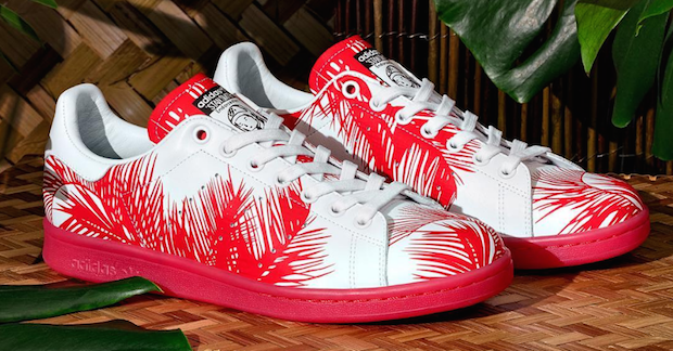 stan smith pharrell williams palmier rouge