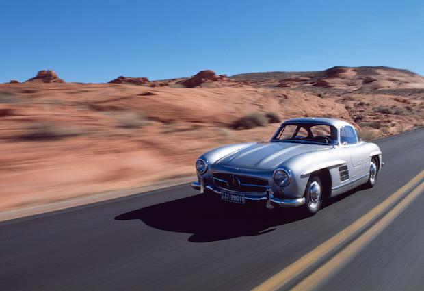 Mercedes-Benz Typ 300 SL (W 198 I, 1954 bis 1957), 1954.