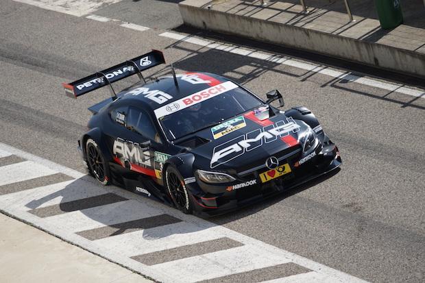 Mercedes-AMG DTM Team, Mercedes-AMG C 63 DTM, Test, Monteblanco