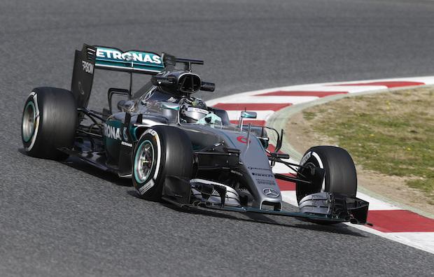 MERCEDES AMG PETRONAS, F1, Formel 1, Barcelona, Circuit de Catalunya-Barcelona, Testfahrten, Nico Rosberg