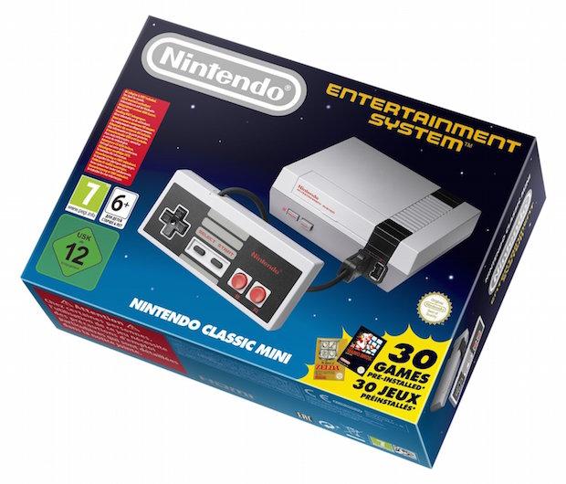 console Nintendo NES Classic Mini n precommande