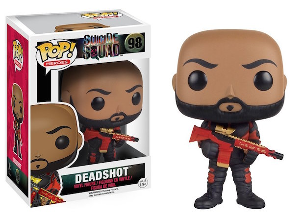 figurine funko pop deadshot will smith suicide squad