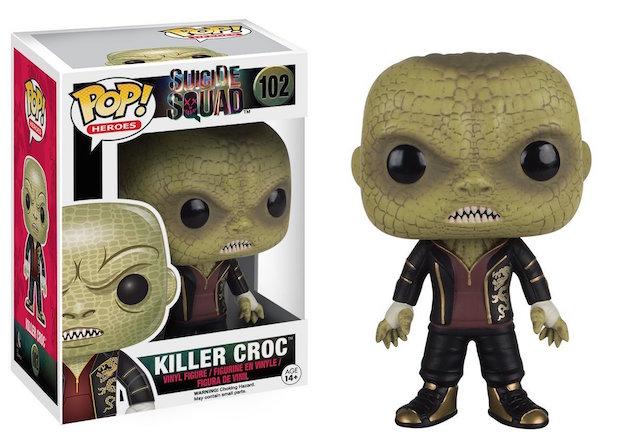 figurine funko pop killer croc suicide squad
