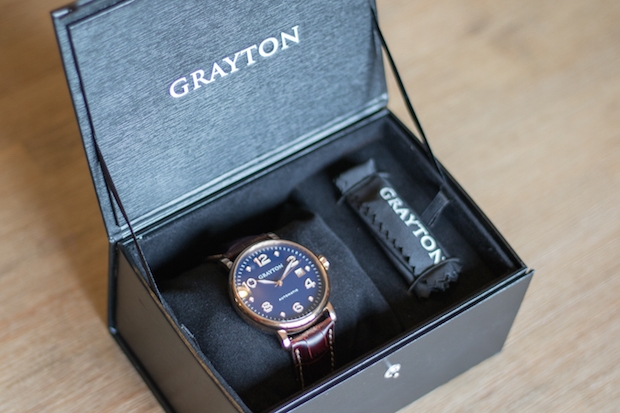 montre grayton automatique