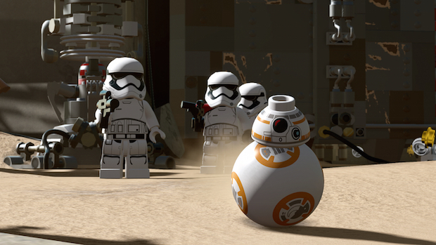 test lego star wars le reveil de la force bb8