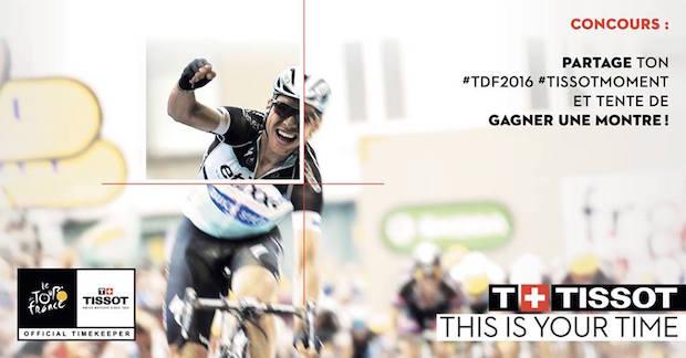 tissot PRC 200 Tour de France concours