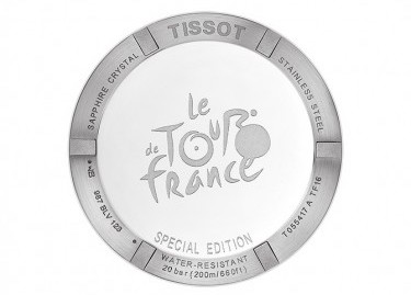 tissot PRC 200 Tour de France montre arriere