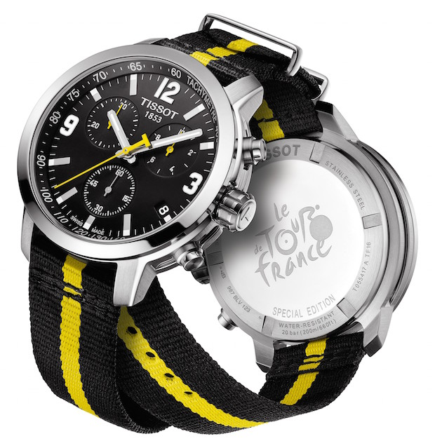 tissot PRC 200 Tour de France montre officielle