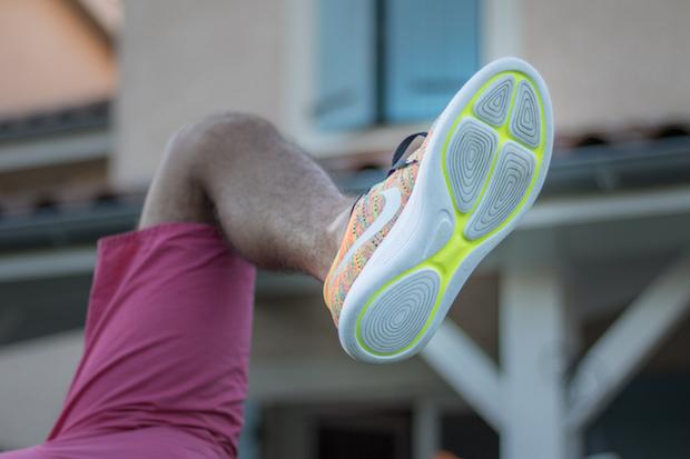 Nike LunarEpic Low Flyknit avis semelle