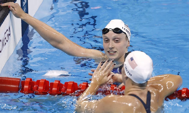 Omega 16 Katie Ledecky natation