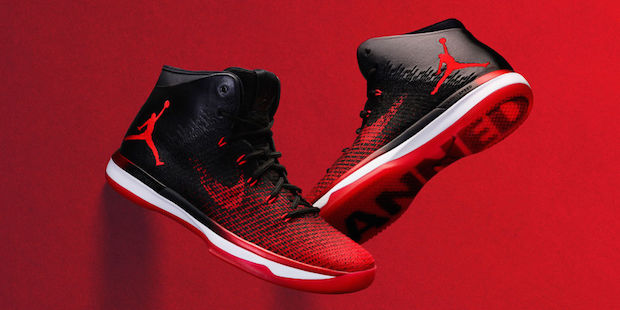 basket rentree chaussure air jordan xxxi banned