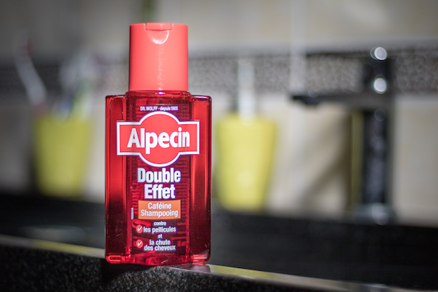 test shampooing double effet alpecin anti chute antipelliculaire