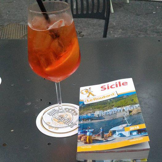 voyage en sicile vacances Un Spritz... what else?