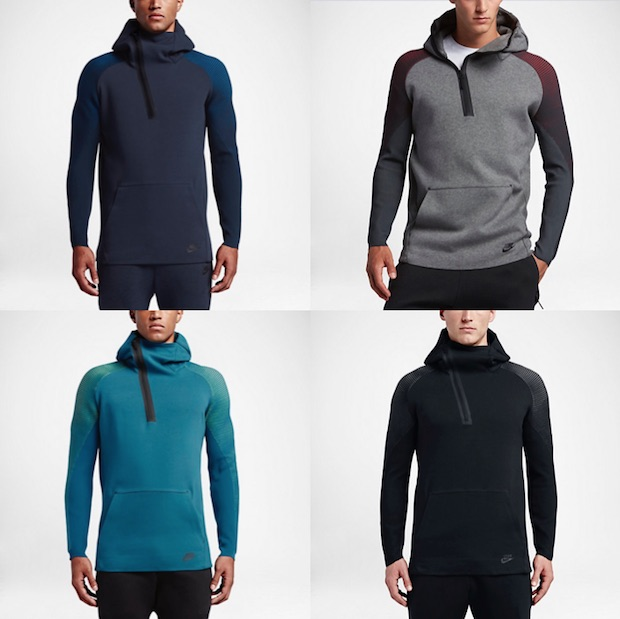 Sweat a capuche Nike Sportswear Tech Fleece couleur