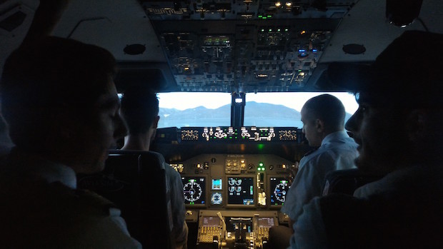 test aviasim avis simulateur de vol cockpit