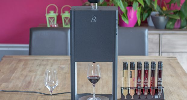 [Test] La machine de dégustation de vin D-Vine by 10-Vins