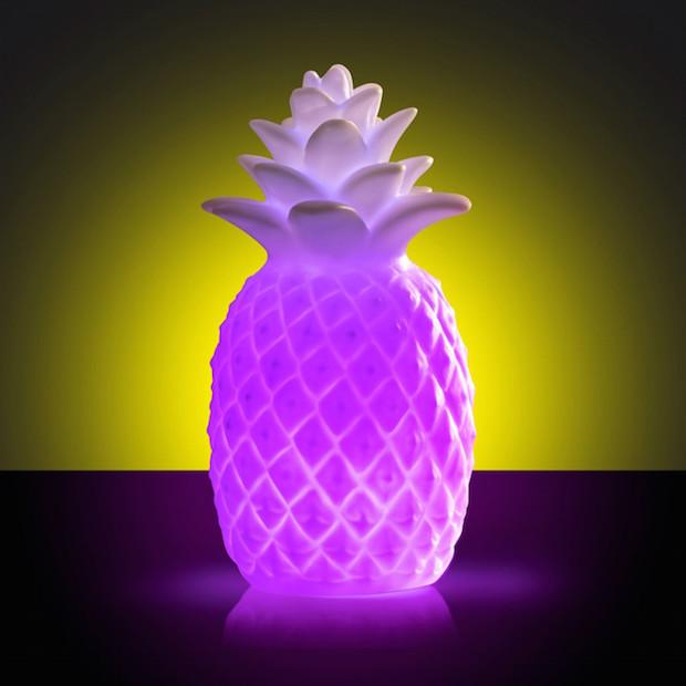 cadeau femme fun original lampe ananas
