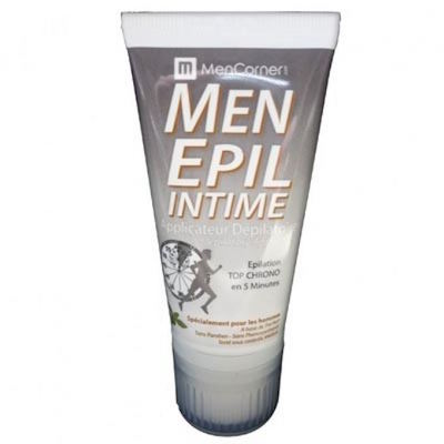 epilation maillot homme intime testicule depilatoire