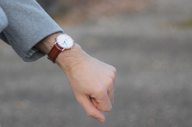 avis daniel wellington montre dapper homme