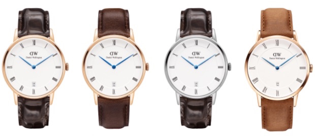 avis daniel wellington montre dapper modele