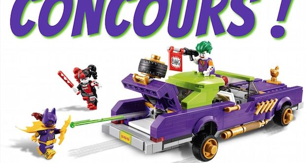 concours lego gagner voiture joker