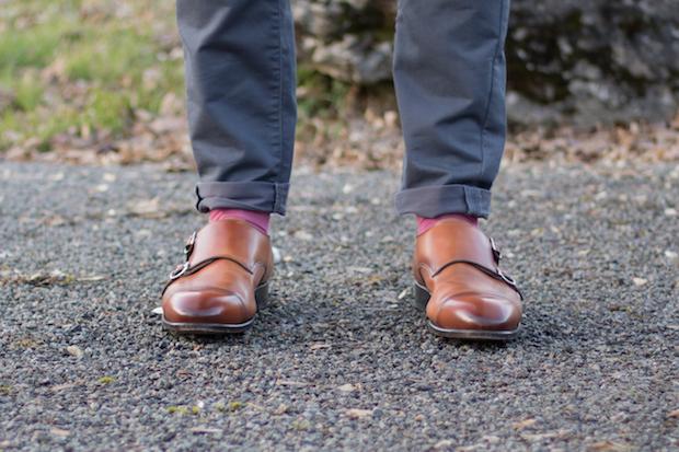 test chaussure double boucle carlos santos avis face