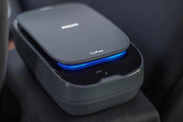 test philips gopure voiture aere