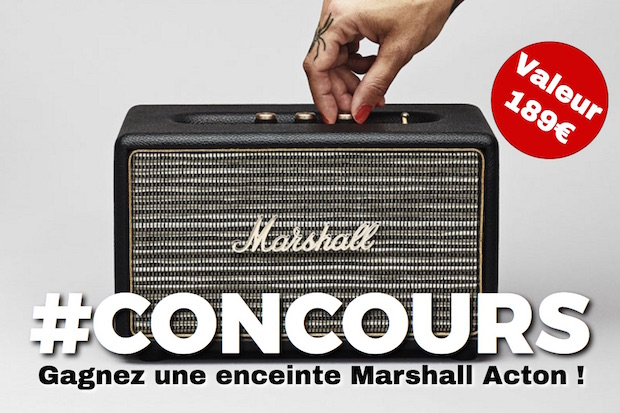 concours enceinte marshall acton gagnez