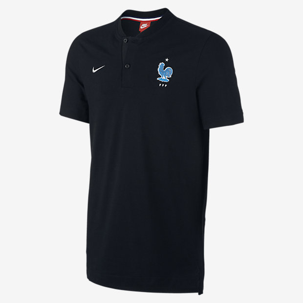 maillot noir equipe de france football