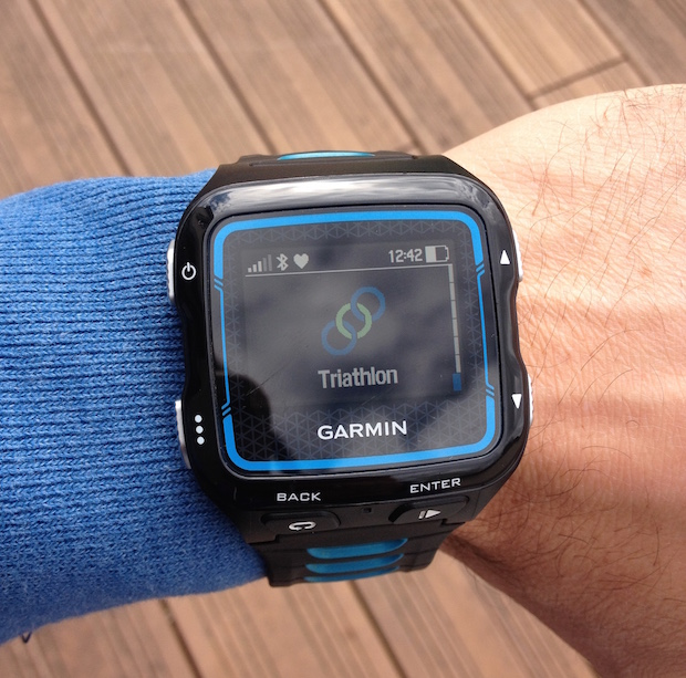 garmin forerunner 920xt test triathlon