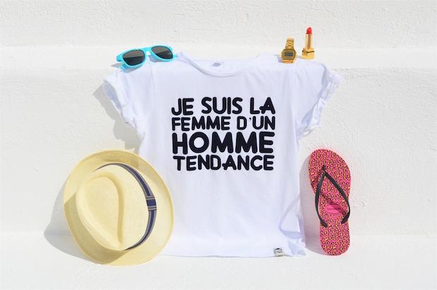 t-shirt lhomme tendance femme