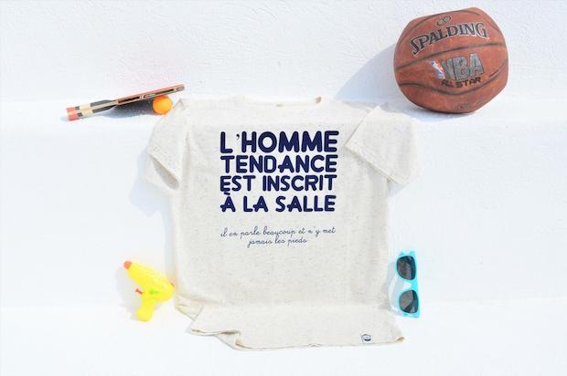 t-shirt lhomme tendance sport