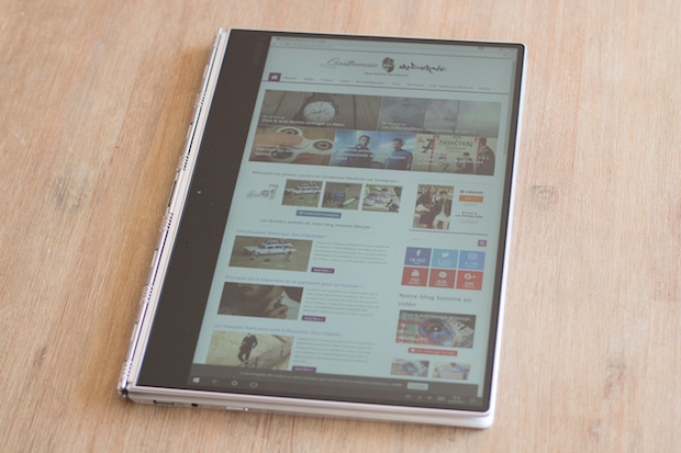 Lenovo YOGA 910 test tablette