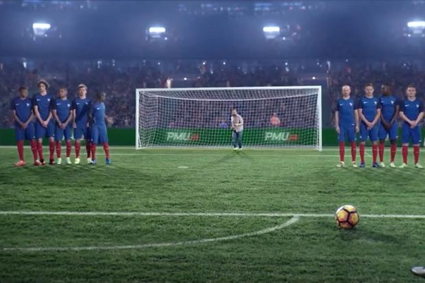 Calendrier Avent Pmu.L Equipe De France De Football Nous Presente Cash Out De Pmu