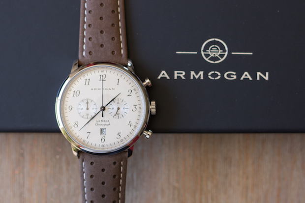 montre armogan le mans test avis 60