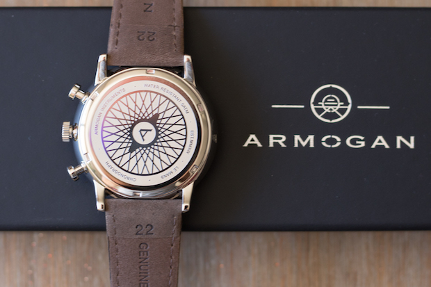 montre armogan le mans test avis 63