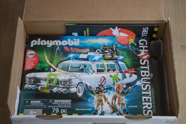 playmobil ghostbuster sos fantomes boite