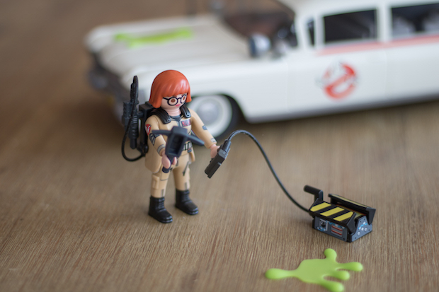 playmobil ghostbuster sos fantomes piege