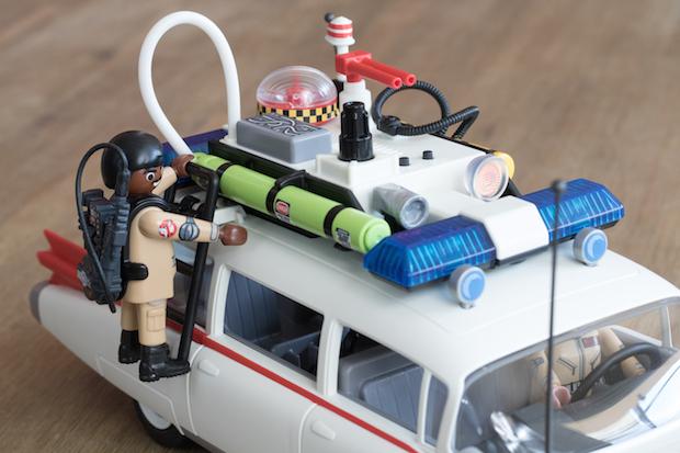 playmobil ghostbuster sos fantomes toit